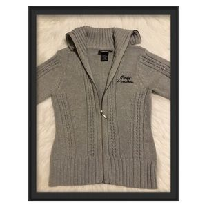 Harley Davidson Women's Full Zip Cardigan Sweater